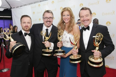 66th Primetime Emmy Awards - Trophy Table