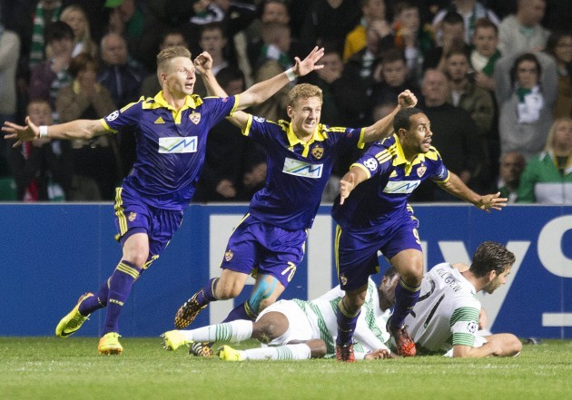 Soccer - UEFA Champions League - Qualifying - Play Off - Second Leg - Celtic v Maribor - Celtic Park