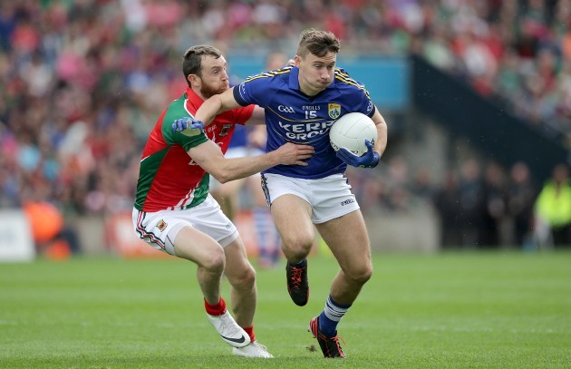 James O'Donoghue with Keith Higgins