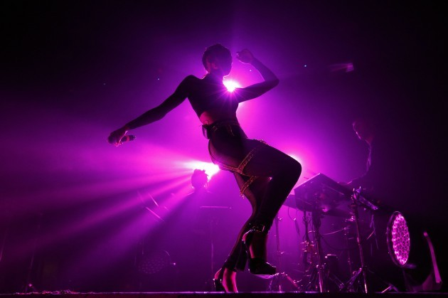 FKA twigs performs at Heaven - London