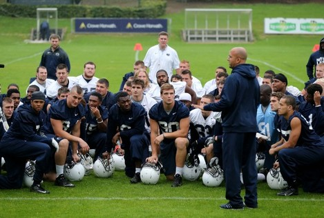 Penn State team training in UCD today