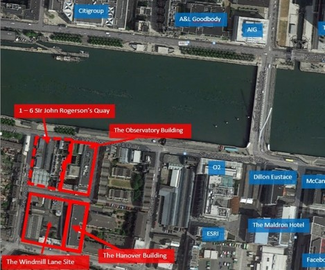 SJR location map