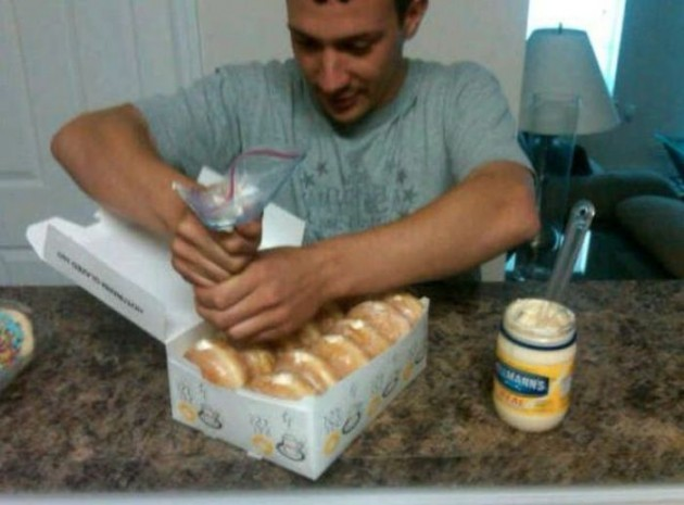 mayonnaise-donuts