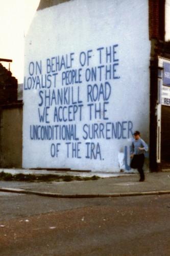 LOYALIST MESSAGE ON IRA CEASEFIR