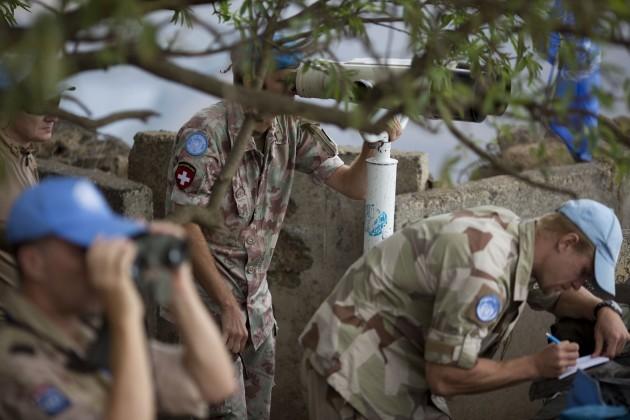 Mideast Israel UN Syria Peacekeepers
