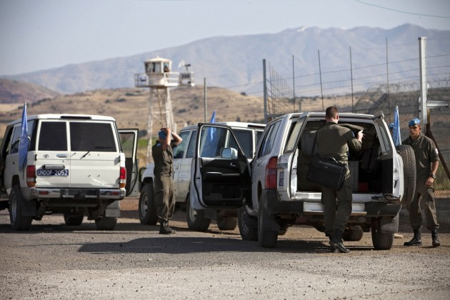 Mideast Israel Syria Austria UN Withraw