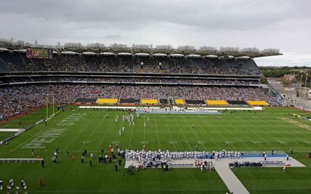 A general view of The Croke Park Classic