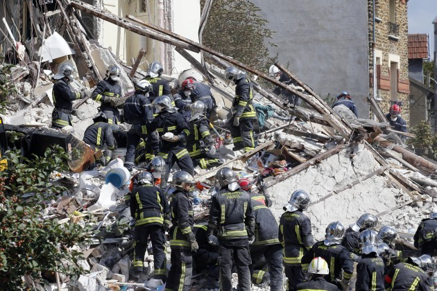 France Building Explosion