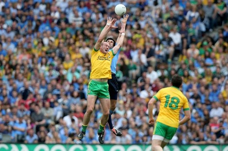 Cian O'Sullivan with Neil Gallagher