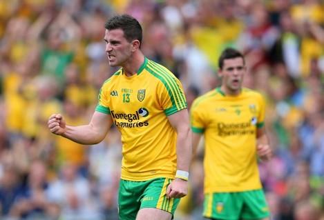 Patrick McBrearty celebrates scoring