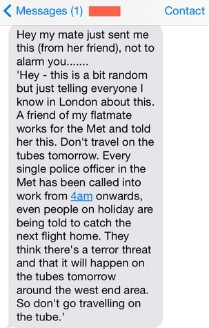 terrorist attack warning goes viral london police say it s a