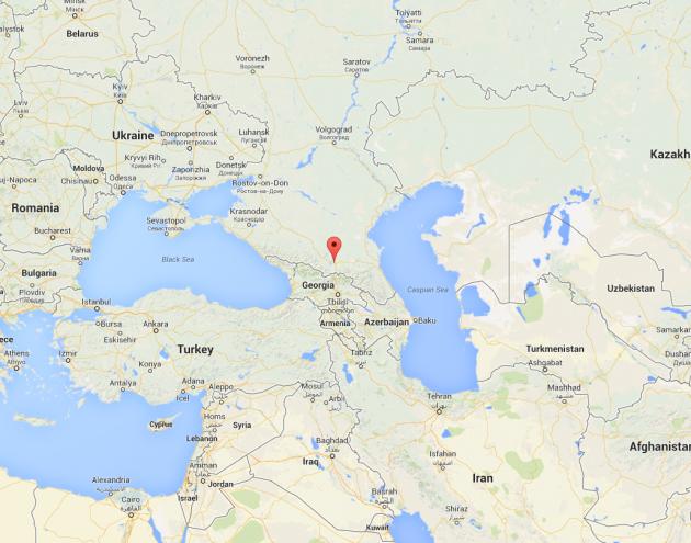 Beslan Google Maps