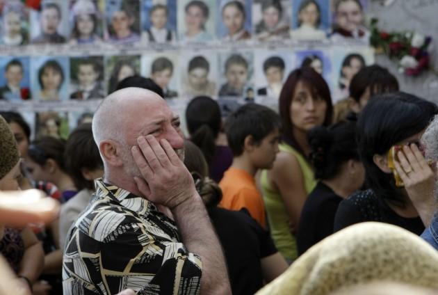 Russia Beslan Mourns