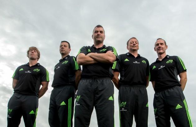Munster management team