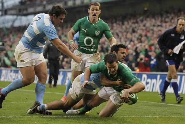 Rugby Union - Guinness Series - Ireland v Argentina - Aviva Stadium