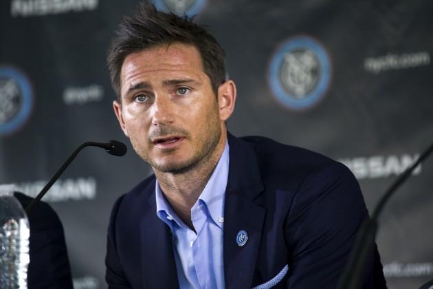 NYCFC Lampard Soccer