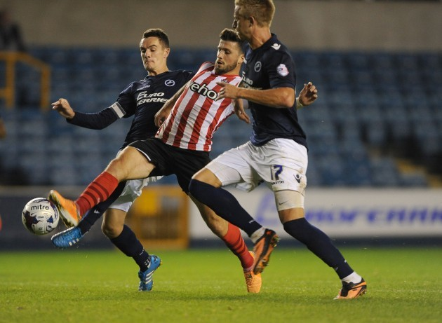 Soccer - Capital One Cup - Second Round - Millwall v Southampton - The Den