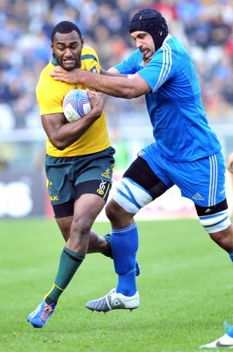 Italy Australia Test Rugby