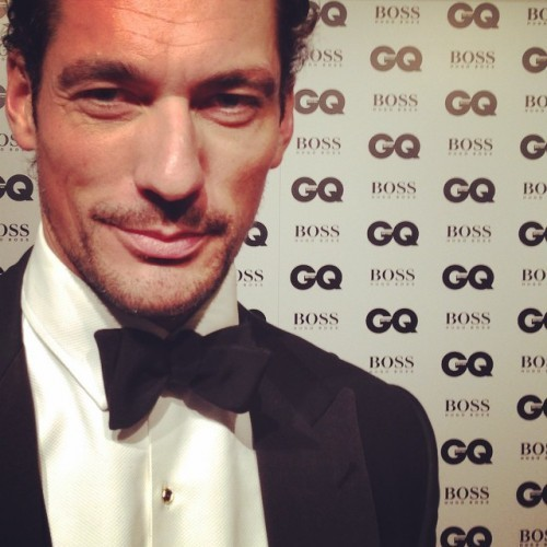 Wearing Savile Row's Henry Poole and Co, our resident petrolhead arrives at the #GQAwards