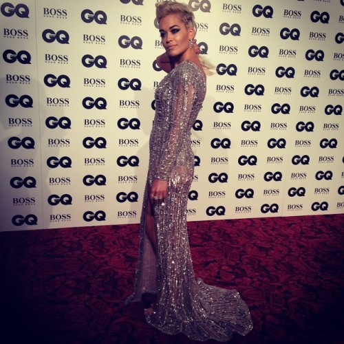 Rita Ora never lets us down #GQAwards