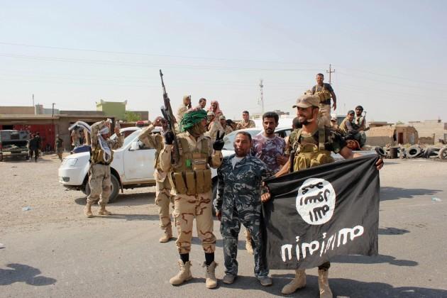Mideast Iraq Blocking Jihadis