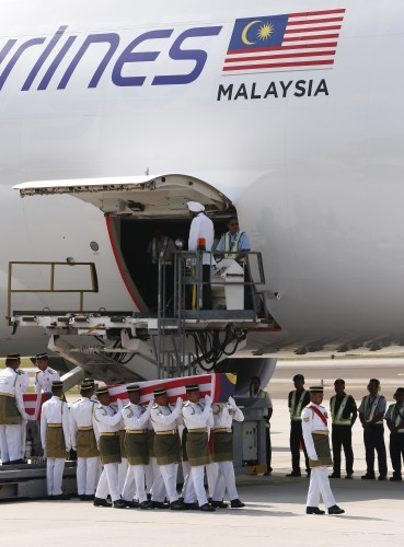 Malaysia Bodies Returned