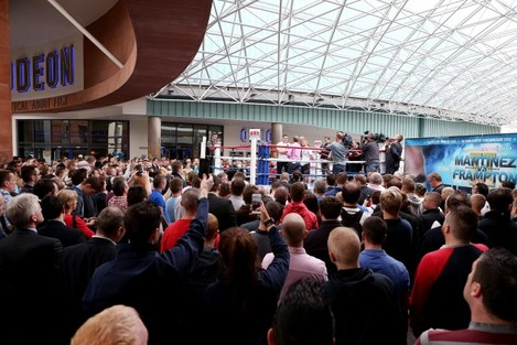 General view of the public workout