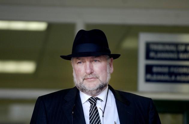 File photo: Gerry Gannon of Gannon Homes Gerry Gannon Mahon Tribunals
