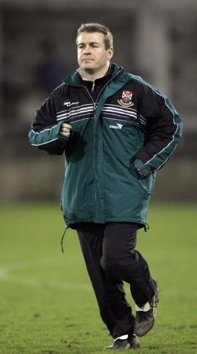 James McCartan Queens manager