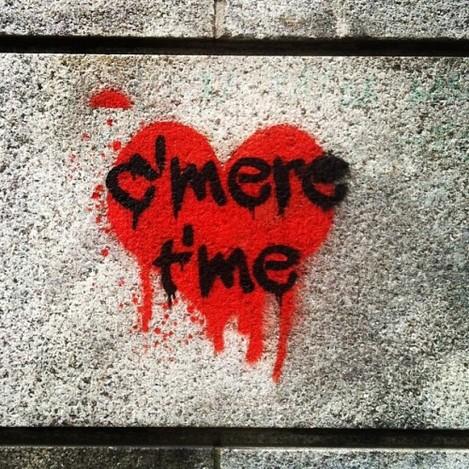 Irish Affection ❤ #Dublin #Graffiti #StreetArt