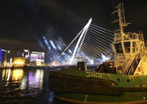 Opening of Tiger Dublin Fringe. Pictur