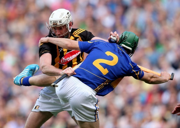 Michael Fennelly with Cathal Barrett