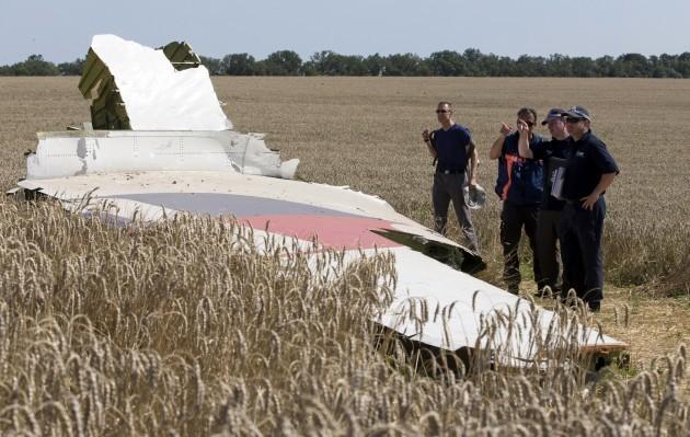 Ukraine Plane Pilots