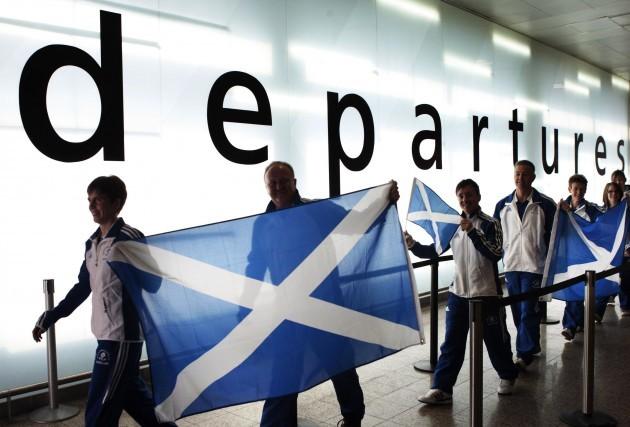 Team Scotland sets off for Delhi