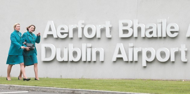 Aer Lingus strike. Aer Lingus cabin cr
