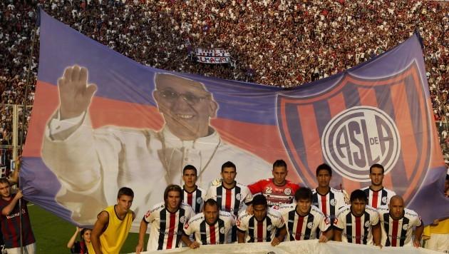 Argentina Soccer Pope