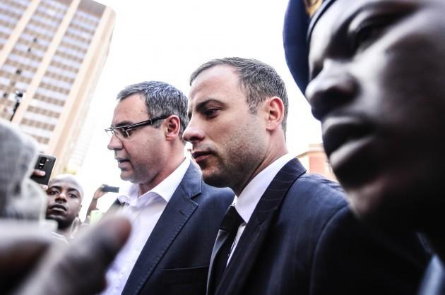 News - Oscar Pistorius Murder Trial - Judgement Day 2 - Pretoria
