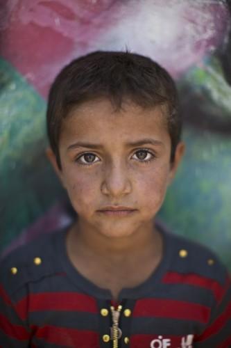 Mideast Jordan Syrian Refugee Children Essay