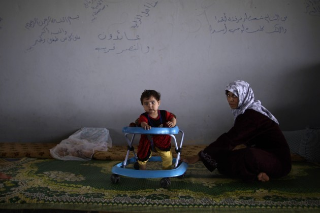 Mideast Syria Women Refugees