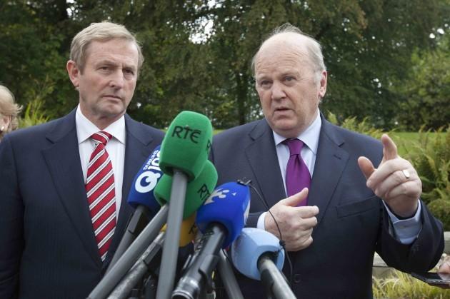 Fine Gael Think-In. L to R. Taoiseach E