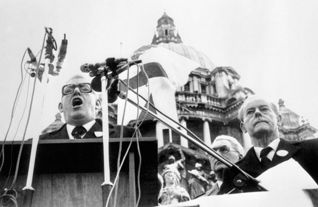 Politics - Northern Ireland - Anglo-Irish Deal - Belfast