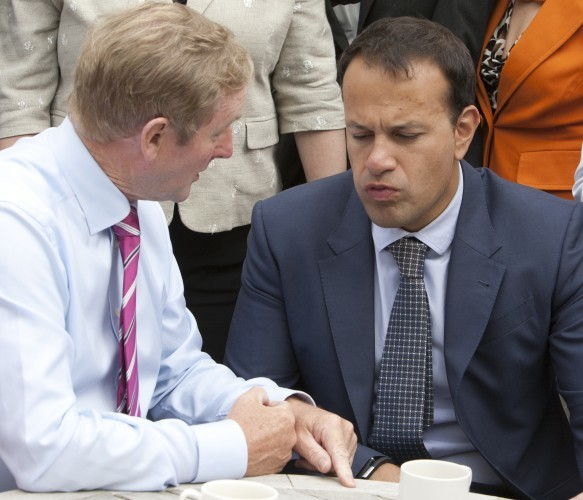Day Two of the Fine Gael Think-In. Taoi
