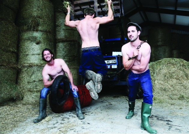 The harvest is in - and so is the Irish Farmer Calendar 2015