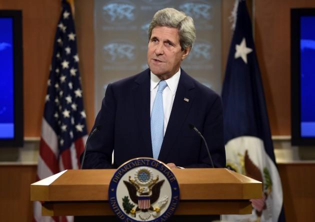 Kerry US Islamic State
