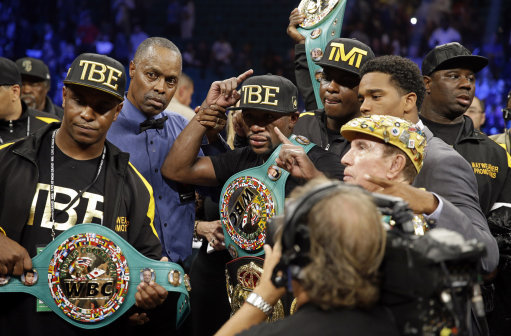 Mayweather Maidana Boxing