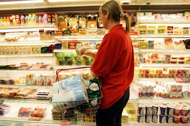File Pics Consumers see 12% rise in groceries over two years.