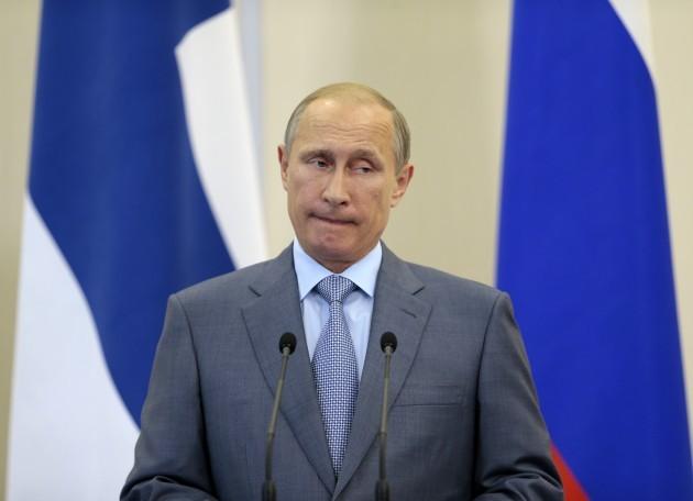 Russia Finland Putin