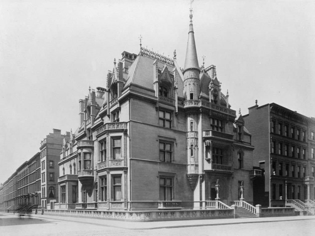 william-kissam-vanderbilts-petit-chateau-built-in-1882-was-nearby-at-52nd-street-and-fifth-avenue-it-was-demolished-to-make-way-for-a-commercial-building-in-1926