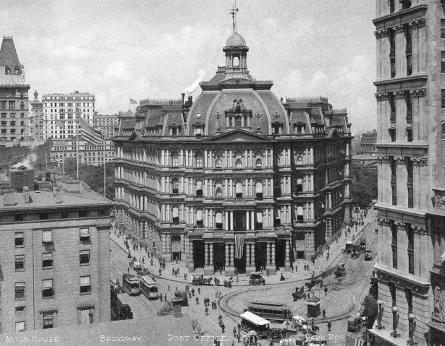 the-city-hall-post-office-first-opened-in-1878-the-design-was-not-well-received-and-it-was-demolished-in-1938-one-year-ahead-of-the-1939-worlds-fair