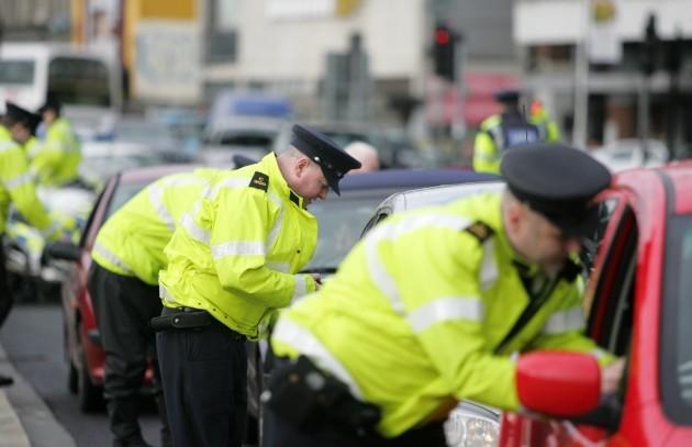 Garda Road Checks